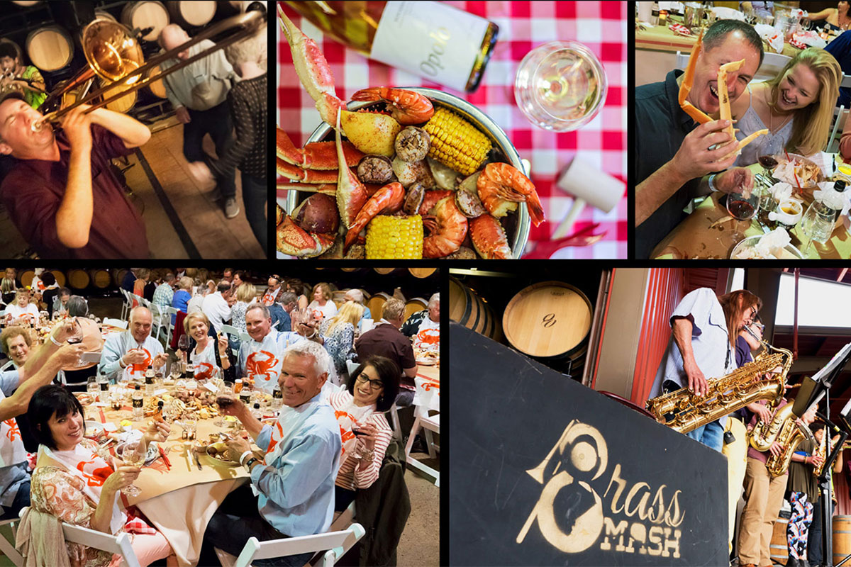 Opolo Vineyards Crab Feed