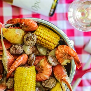 Opolo Crab Feed with Opolo White Wine