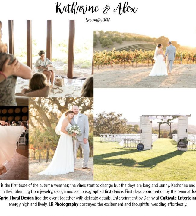 Best Winery Wedding Venues Paso Robles California