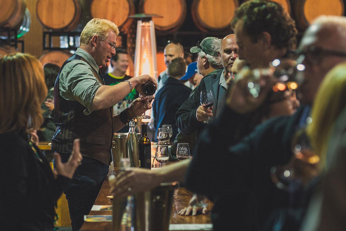 Opolo Vineyards Wine Tasting Room Paso Robles California