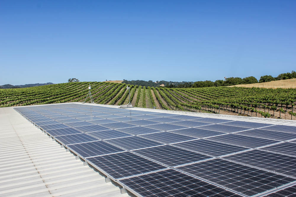 Opolo Vineyards Solar Panels Paso Robles California